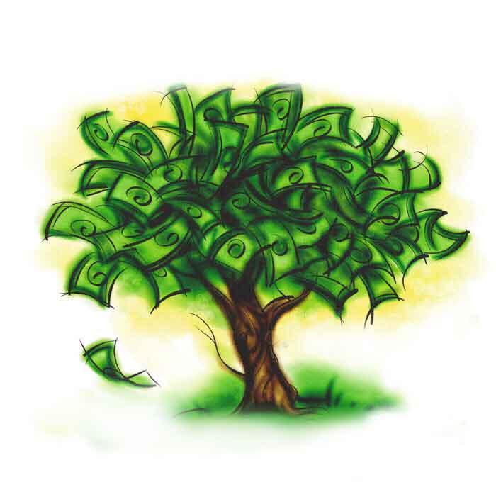 Numai la bani te gandesti …