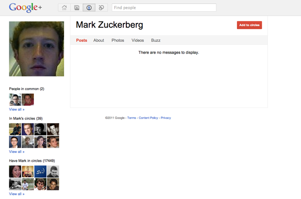 Daca si Zuckerberg e pe google+ …