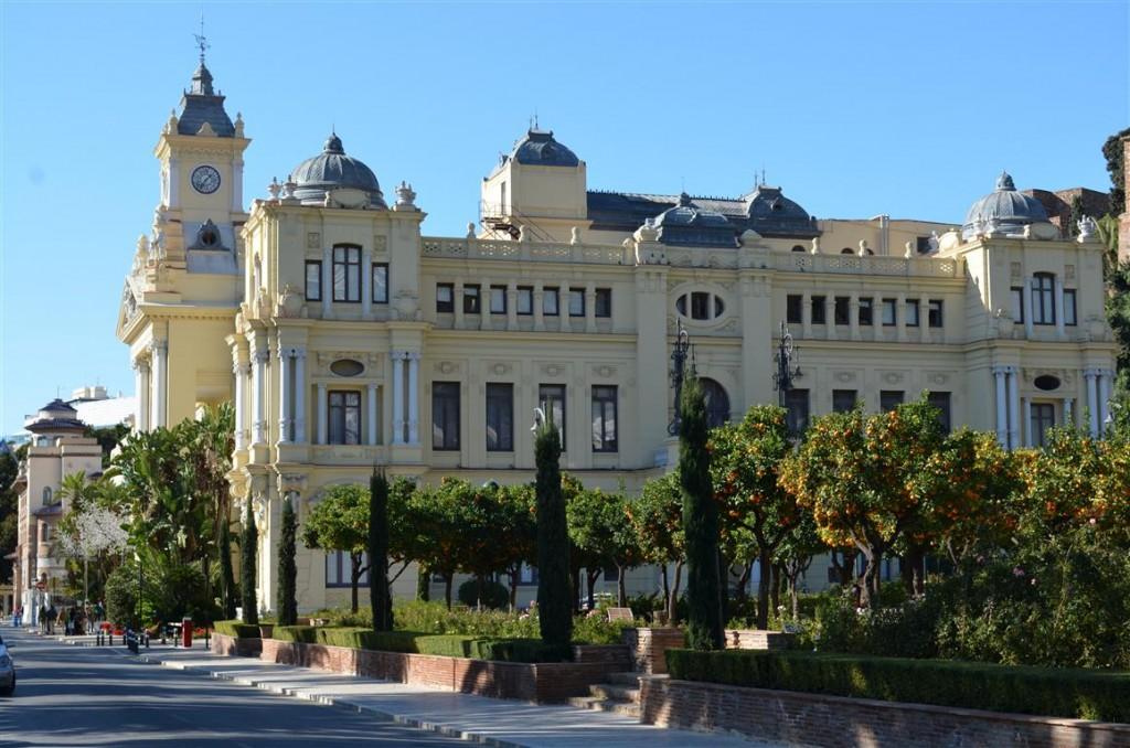 La plimbare prin Malaga