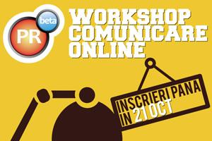 Încă un eveniment pe online în Timișoara