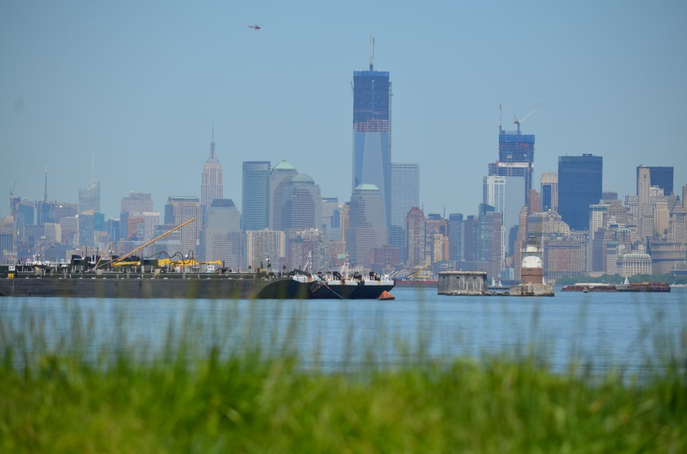 Manhattan văzut de pe Staten Island