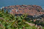Dubrovnik: vedere de la Fortăreața Imperială de pe deal