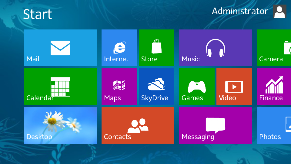 Juma' de an pe Windows 8