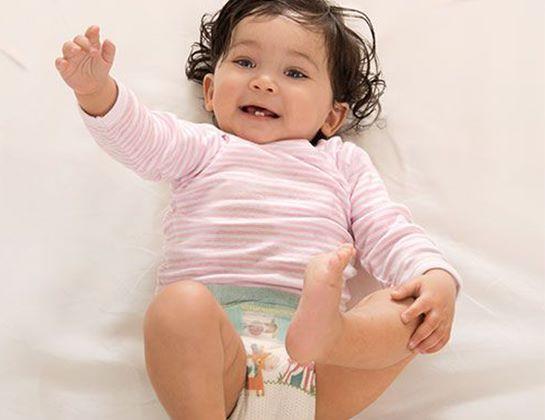 Pampers Active Baby Dry pentru un copil activ